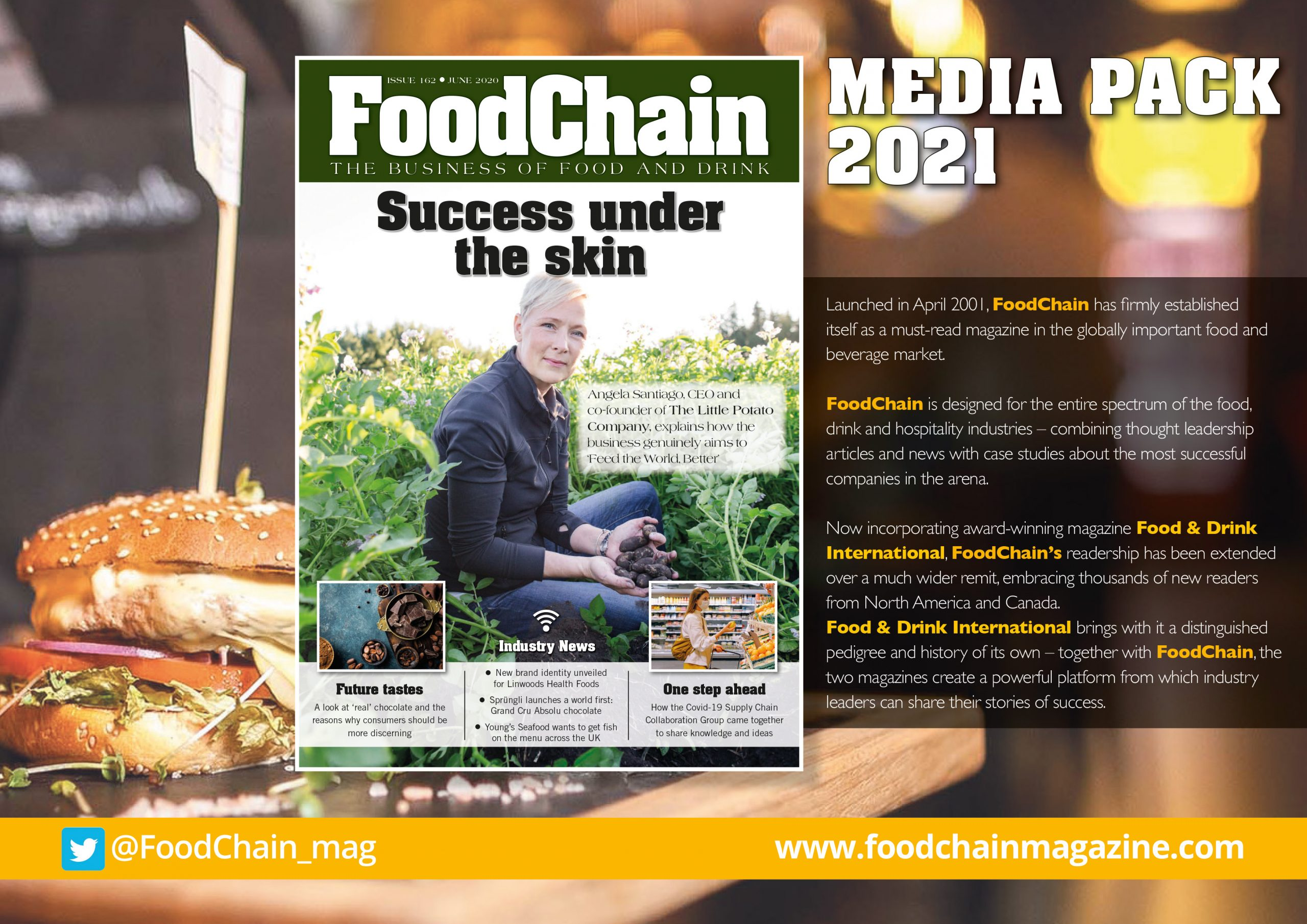 FoodChain 2021 - Media Pack Front Cover
